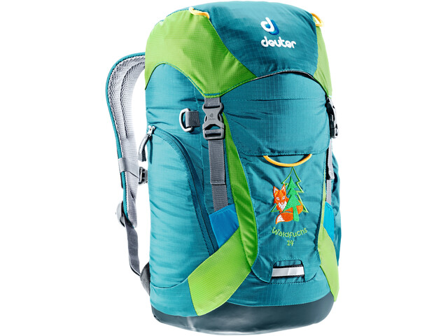 471263a388 Deuter Waldfuchs 14 Backpack Kids petrol-kiwi